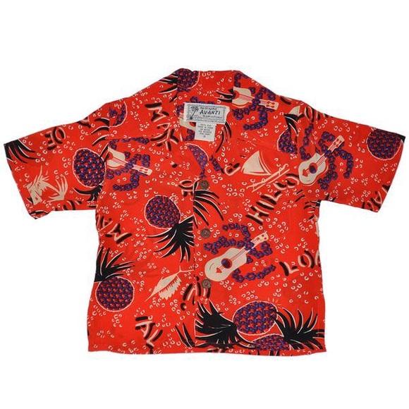 64143fe4 avanti Shirts & Tops | 100 Silk Hawaiian Shirt | Poshmark